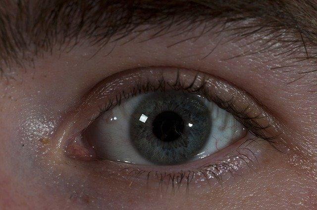 otevřené oko