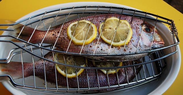 grilování ryb