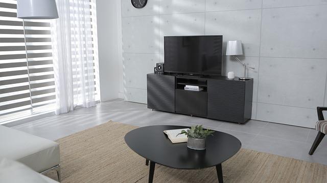 jednoduchý obývák